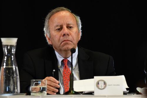 José Ramón González, integrante de la Junta de Control Fiscal