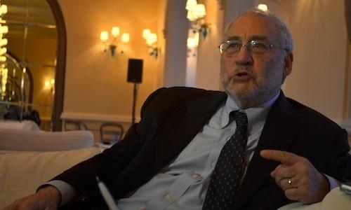 Joseph Stiglitz / Foto por  Joel Cintrón Arbasetti