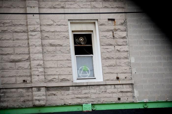 Segunda Vida, ubicado en un segundo piso. Foto por Bill Healy