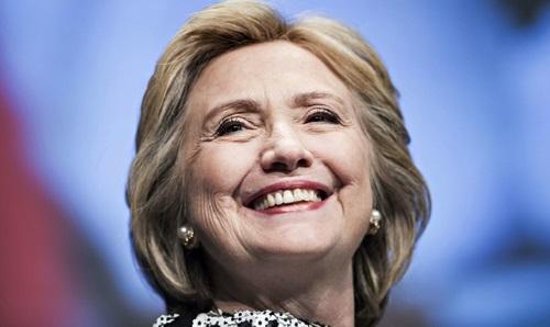 Hillary Clinton, precandidata a las elecciones presidenciales de Estados Unidos por el Partido Demócrata