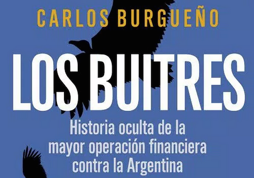Portada del libro 'Los Buitres' de Carlos Burgueño.