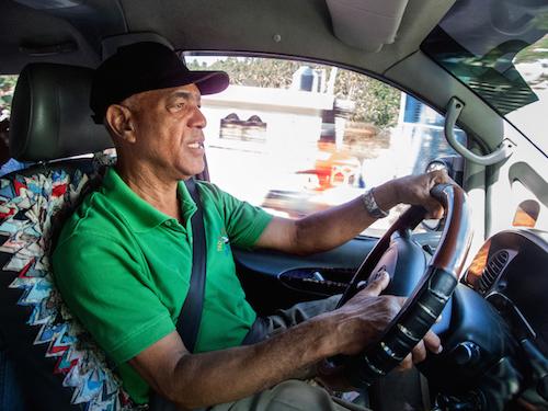 José Eligio García Jiménez, transportista turístico de la Provincia de Samaná.