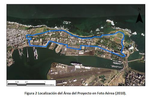 El proyecto del Paseo Lineal de Puerta de Tierra, considerado una obra emblemática de la administración del gobernador de Puerto Rico, Alejandro García Padilla, busca crear una ruta para conectar el sector de Condado con el Viejo San Juan, con un paseo peatonal, un carril de bicicletas y áreas comerciales.