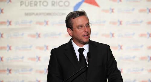 El gobernador Alejandro García Padilla