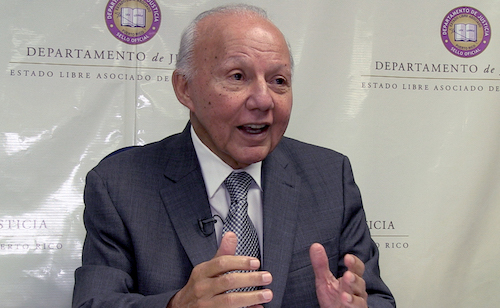 César Miranda, secretario de Justicia