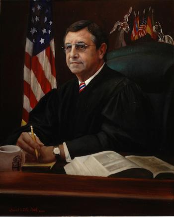 Pintura del Juez Francisco Besosa
