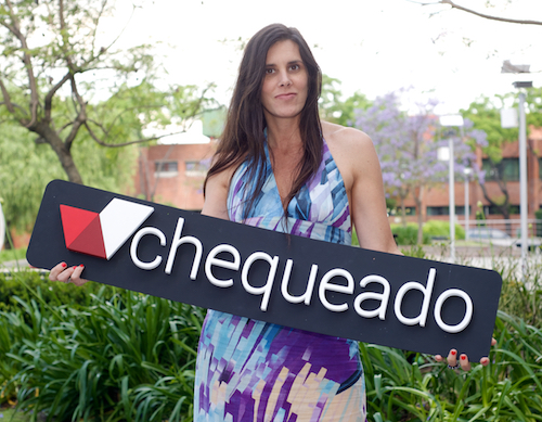 Laura Zommer, directora ejecutiva de Chequeado