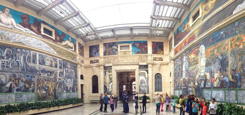 Art and creditors tactics from detroit s debt mediator for Detroit mural factory